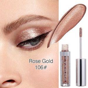 Liquid Diamonds Glitter Eyeshadow - Rose Gold
